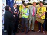 Government Minister and Chester MP Visit Campaign Stall at Cycling Festival