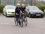 Cheshire Police Using Bikes