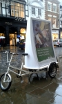Waitrose Advertising Bike