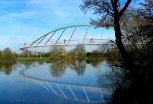 Artist's Impression of River Dee Bridge