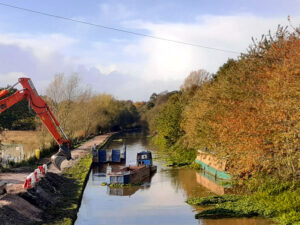 Canal Towpath Works