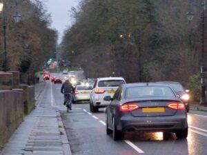 Grosvenor Bridge Cycle Lane Improvements