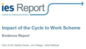 Cycle to Work Report