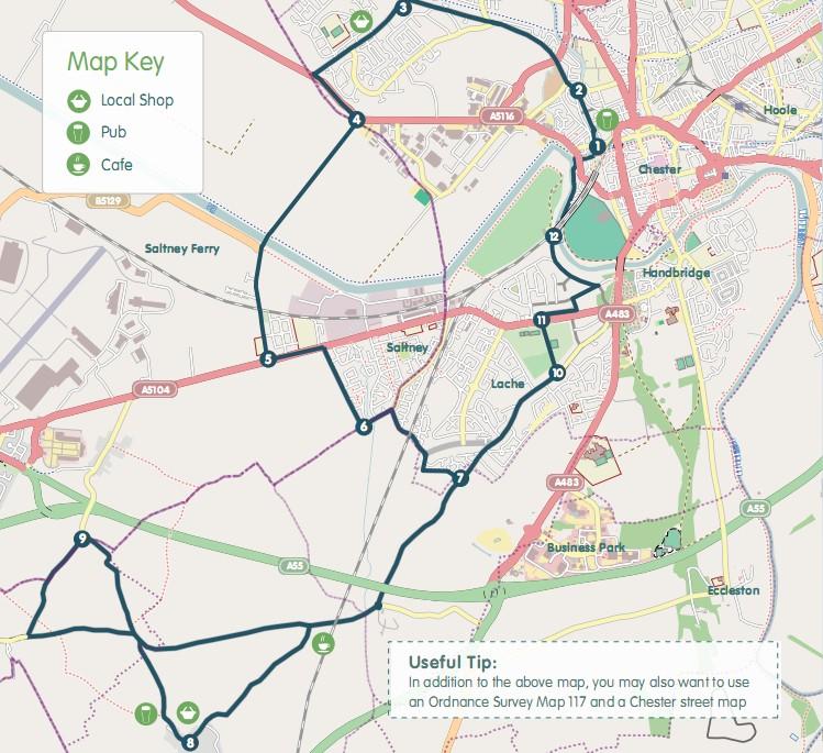 Dodleston Doddle Map