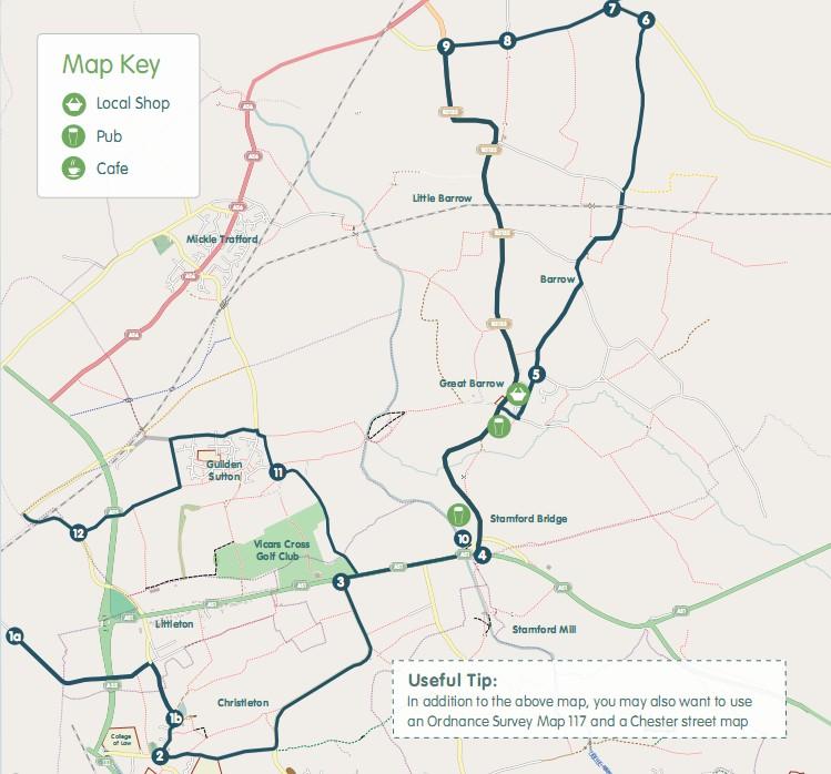 Manley Meander Map