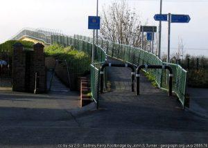 Saltney Ferry Footbridge