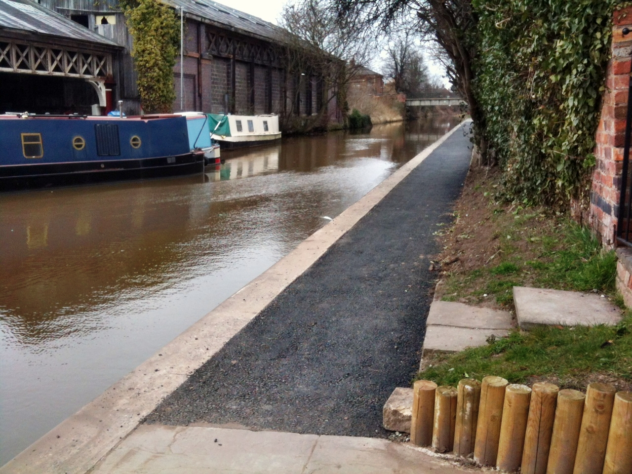 Towpath at Canal Basin