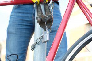 Bike Being Stolen
