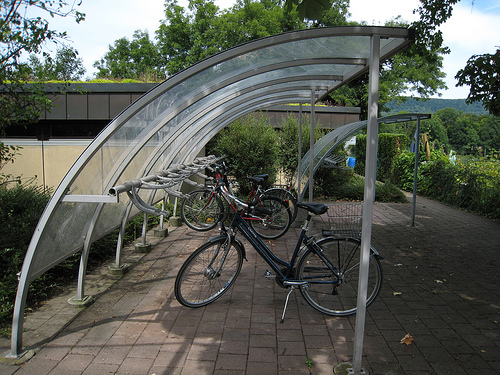 Covered Bike Rack