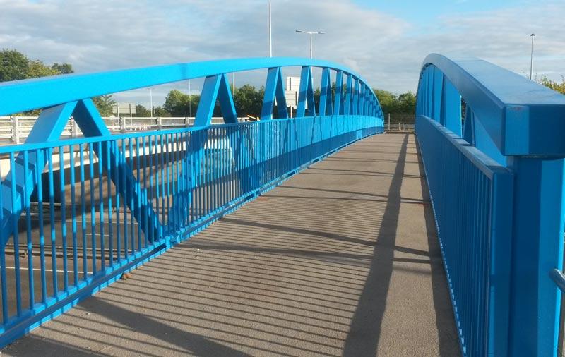 Post House Cycle Bridge