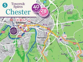 Map Of Chester Zoo England.Maps And Routes Chester Cycling Campaign